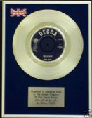"SMALL FACES 7"" Platinum Disc - SHA- LA- LA- LA- LEE"